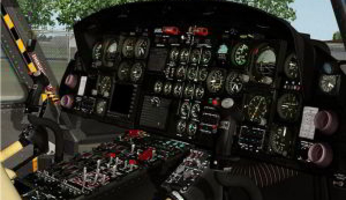 Cabina Hlicóptero